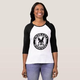Camiseta Raglan clássico das senhoras