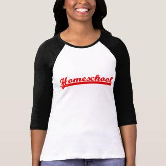 Camiseta Raglan da equipe de Homeschool