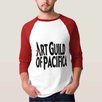 Camiseta Raglan da luva de AGP 3/4