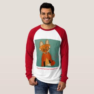 Camiseta Raglan do Fox de Betty (estilos & cores