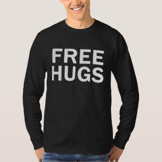 Camiseta Raglan livre do campeão dos abraços - homens