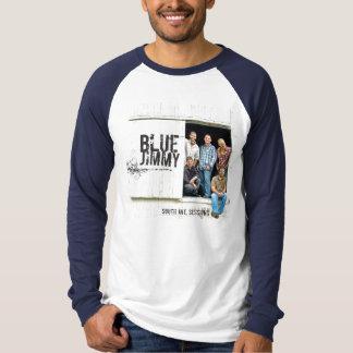Camiseta Raglan longo básico da luva