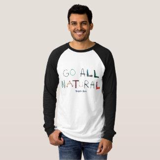 Camiseta Raglan longo da luva