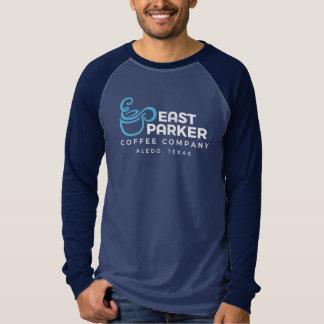 Camiseta Raglan longo do leste da luva de Parker