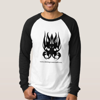 Camiseta Raglan longo ESCOLHIDO T-shrit da luva