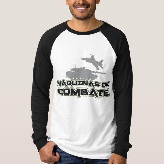 Camiseta Raglan manga longa Máquinas de Combate