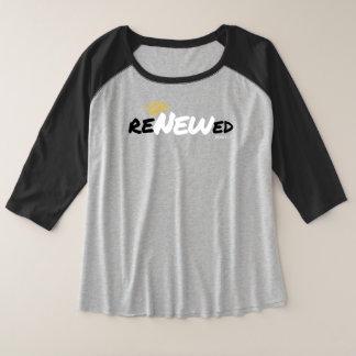 Camiseta Raglan Plus Size Renovado