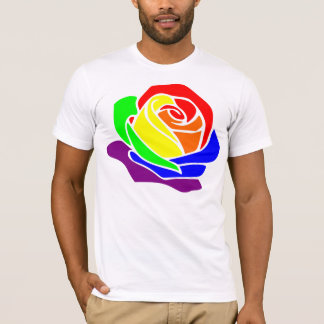 Camiseta RainbowRose.eu - Big rosa Shirt
