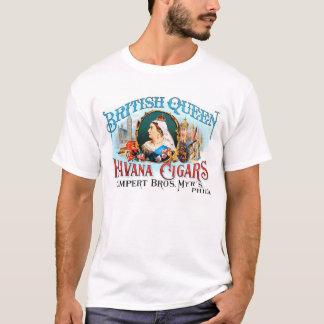 Camiseta Rainha britânica Havana dos charutos retros do