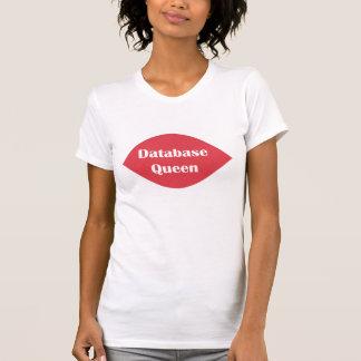 Camiseta Rainha da base de dados