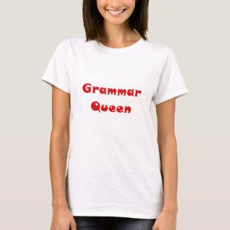 Camiseta Rainha da gramática