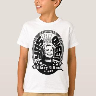Camiseta Rainha de Hillary Clinton Yas