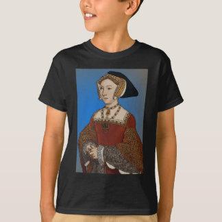 Camiseta Rainha de Jane Seymour de Henry VIII de Inglaterra