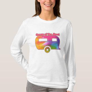 Camiseta Rainha do campista da estrada
