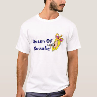 Camiseta Rainha do karaoke