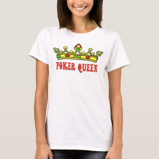 Camiseta Rainha do póquer