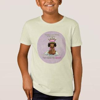 Camiseta Rainha do príncipe - T da irmã mais velha do