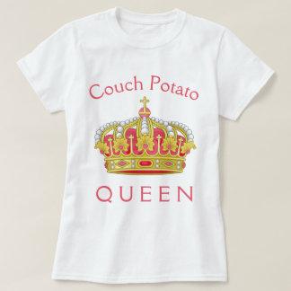 Camiseta Rainha do viciado em televisão