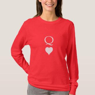 Camiseta Rainha dos corações