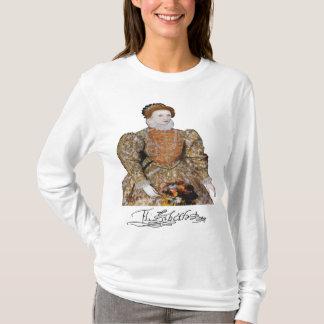 Camiseta Rainha Elizabeth mim