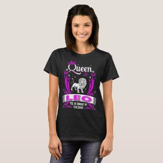 Camiseta Rainha Leo comprou-me este Tshirt do zodíaco da