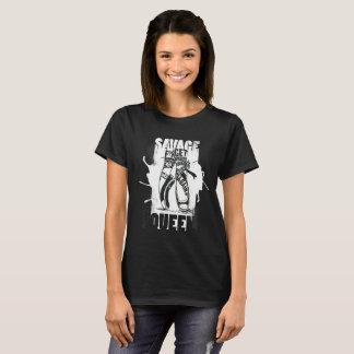 Camiseta Rainha selvagem 101
