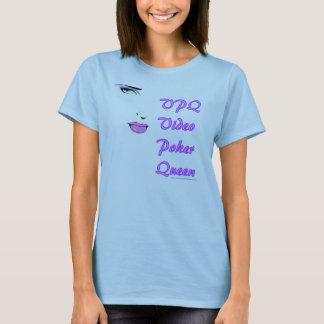 Camiseta Rainha video 2 do póquer