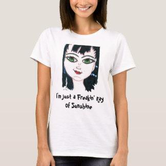 Camiseta Raio de Freakin de luz do sol