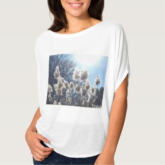 Camiseta Raio dourado do t-shirt das mulheres do impressão