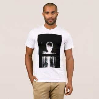 Camiseta raio X de esqueleto