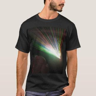 Camiseta Raios laser do RGB
