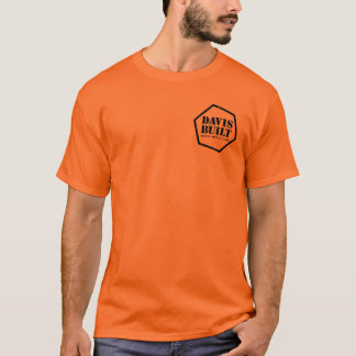 Camiseta RAIVA DA ESTRADA. (preto/laranja)