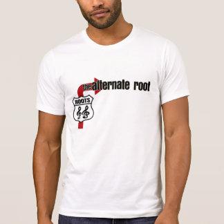 Camiseta Raiz alternativa o T afligido
