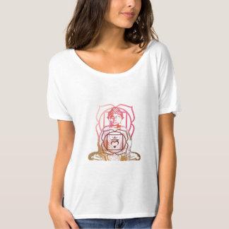 Camiseta Raiz Chakra e t-shirt do vintage de Buddha
