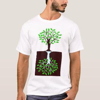Camiseta Raizes da água e raizes do ar