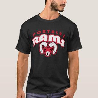 Camiseta Ram de Portales arqueadas rotulando o t-shirt