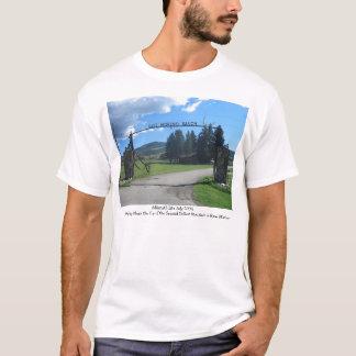 Camiseta Rancho do leste de Moreno, ninho de Eagle,