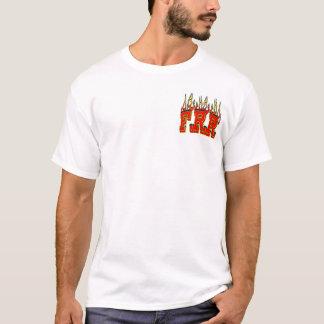 Camiseta Rancho flamejante do rato