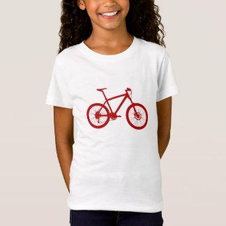 Camiseta Rapariga American Apparel alpargata, bicicleta,
