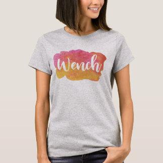 Camiseta Rapariga, Birmingham, T preto do calão do país