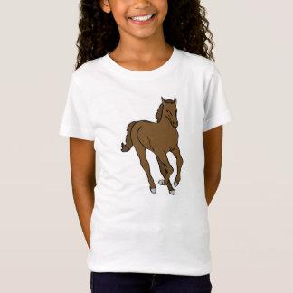 Camiseta Rapariga Shirt com motivo de cavalo sabe
