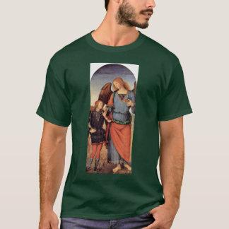 Camiseta Raphael do arcanjo e Tobias pequenos
