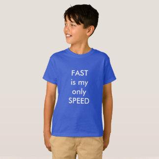 Camiseta RÁPIDA é minha somente velocidade