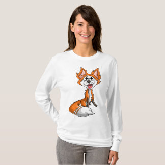 Camiseta Raposa de riso