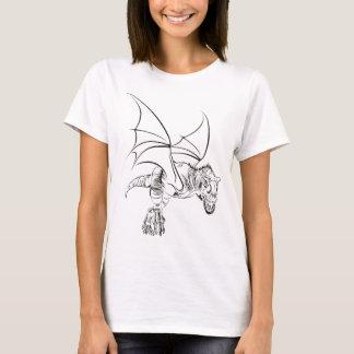 Camiseta Raptor/tribal voados