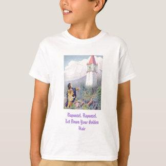 Camiseta Rapunzel, Rapunzel, deixou para baixo seu cabelo