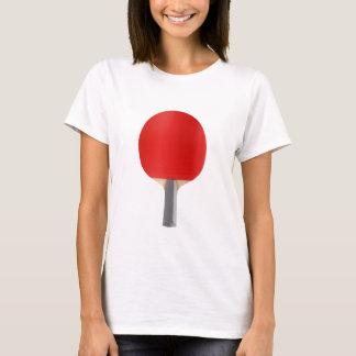 Camiseta Raquete de ténis de mesa