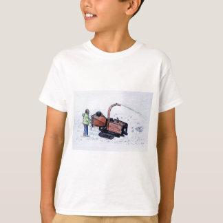 Camiseta Raspadora de madeira de Timberwolf