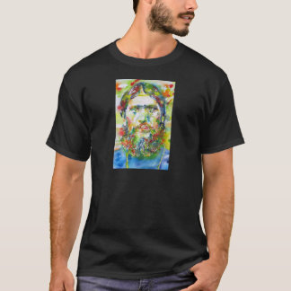 Camiseta RASPUTIN - aguarela portrait.1