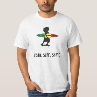 CAMISETA RASTA/ SURF/ SKATE